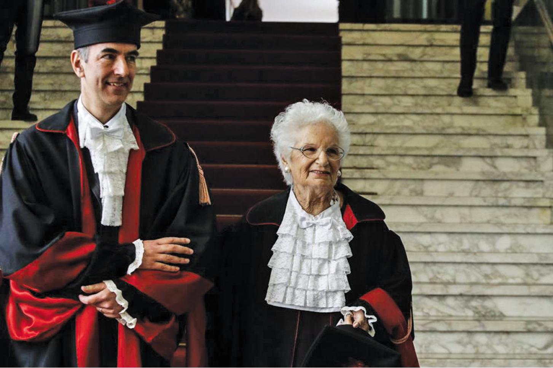 Elogio alla Senatrice della Repubblica Italiana Liliana Segre