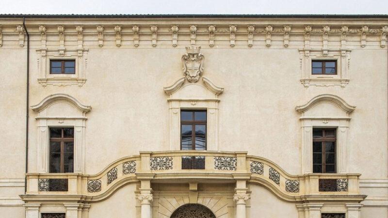 Il rinato palazzo Ardinghelli, a l'Aquila, diventa museo Maxxi