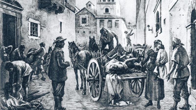 La paura dell'infezione nei secoli