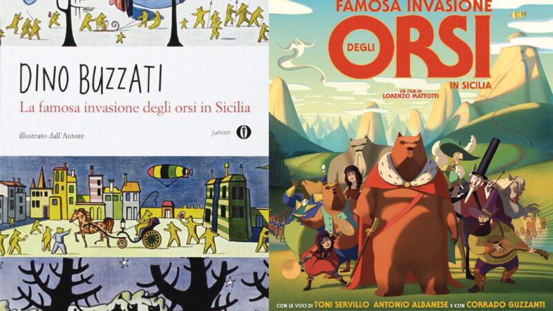 """""""La famosa invasione degli orsi in Sicilia"""": da Dino Buzzati all'animazione"""