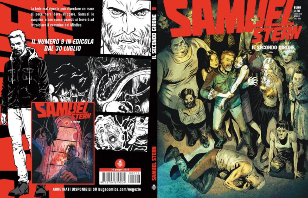 """Samuel Stern """"il secondo girone"""", il nuovo fumetto horror italiano"""