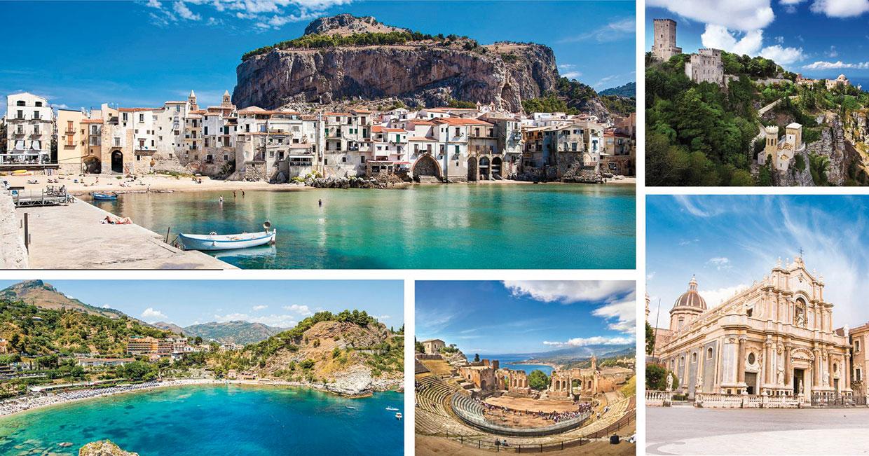 Omaggio di una siciliana alla sua terra