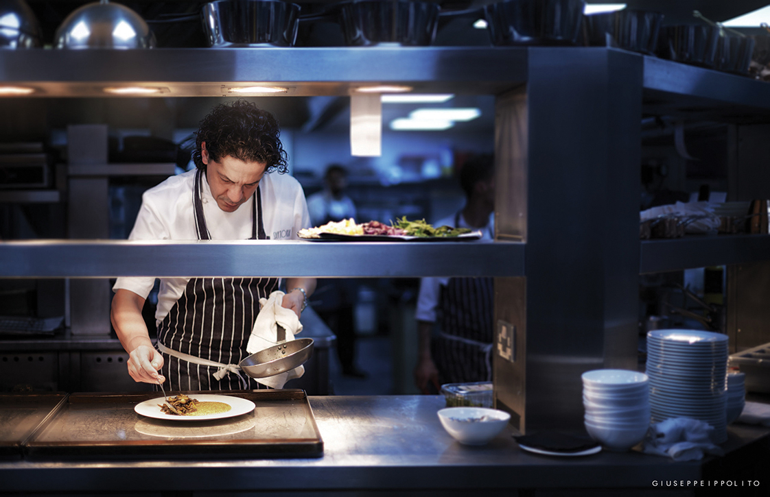 Francesco Mazzei bringing the spice of Southern Italy to the heart of London's cuisine