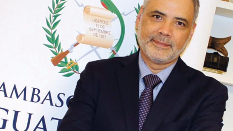 Luis Carranza, Ambasciatore del Guatemala in Italia