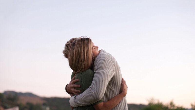 Una carezza e un abbraccio
