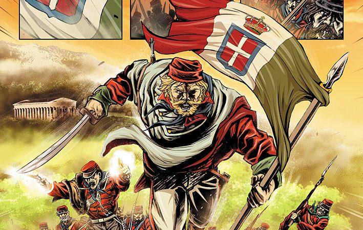 """Su Kickstarter """"GARIBALDI VS ZOMBIES"""", il graphic novel più """"fuori di testa"""" del 2021!"""