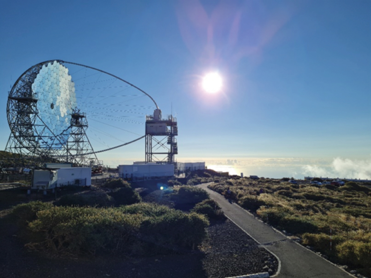 Alle Canarie ma a 2400 metri: diario di un'astrofisica gamma