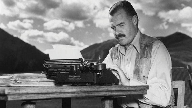 I nostri miti morti ormai, la scoperta di Hemingway