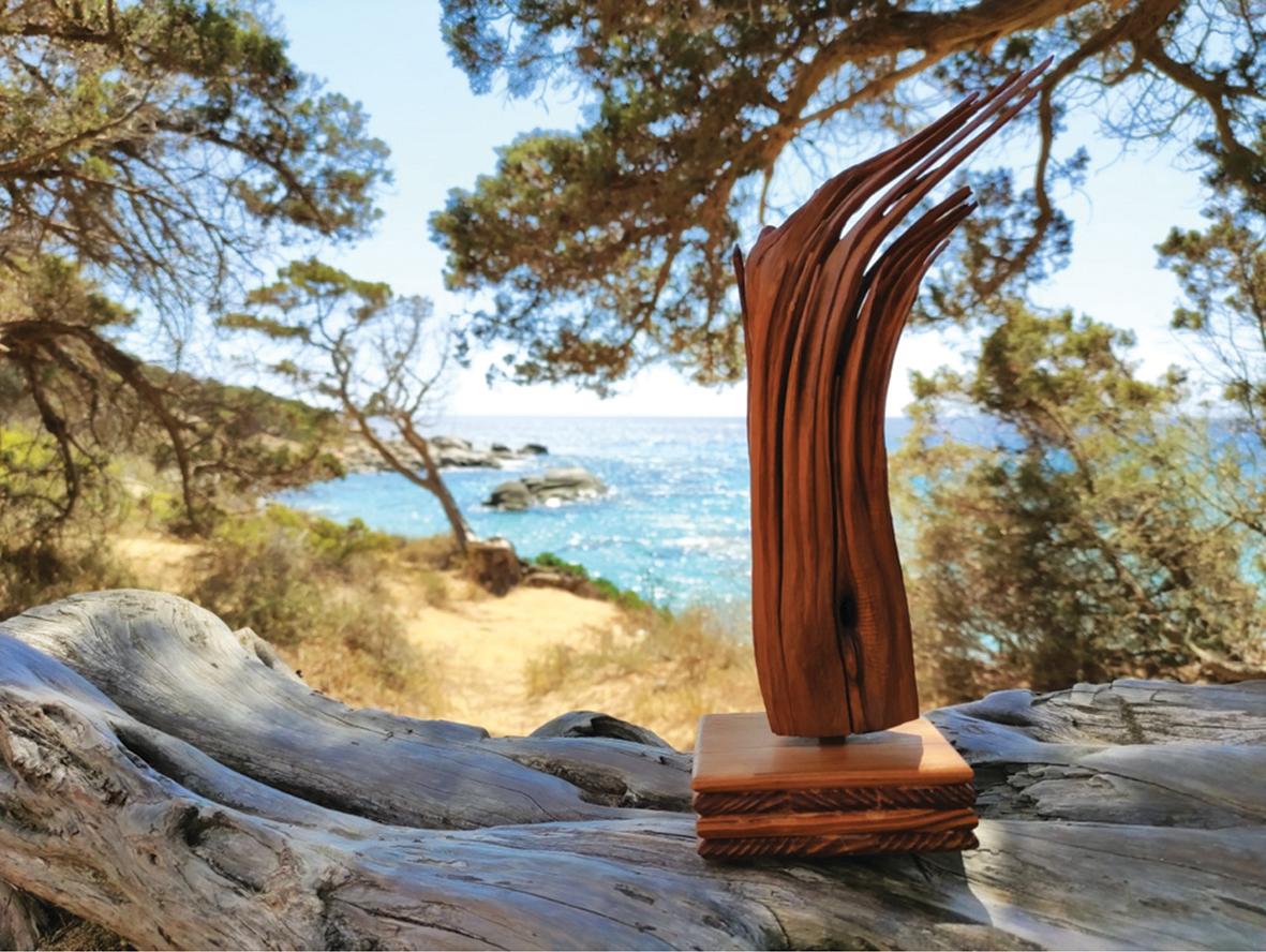 Dialogando con la materia Intervista allo scultore sardo Nino Etzi